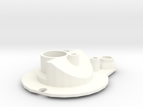 Head light reflector right Adventure D90 Team Raff in White Processed Versatile Plastic