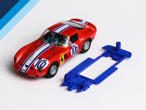 1/32 Fly Ferrari 250 GTO Chassis Slot.it IL pod in Blue Processed Versatile Plastic