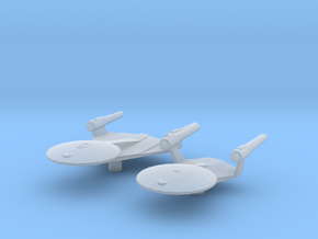 Planet of the Titans Study 1+2 1/7000 Attack Wing in Smooth Fine Detail Plastic