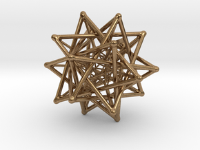 Flexo the Star (big) in Natural Brass