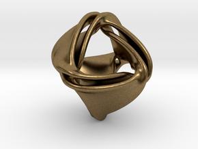 Tetra-ducov (no holes) in Natural Bronze