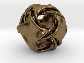 Octa-ducov (no holes) in Natural Bronze