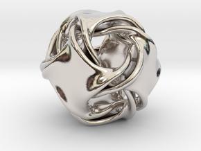Octa-ducov (no holes) in Platinum