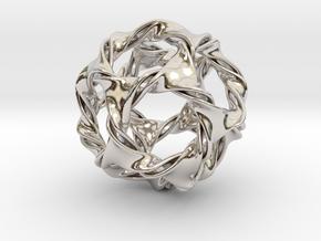 Dodeca-ducov (no holes) in Platinum