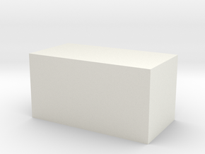 The largest WSF object you can buy on Shapeways in White Natural Versatile Plastic