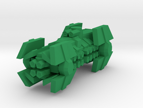 Colour Confederation Heavy Destroyer in Green Processed Versatile Plastic