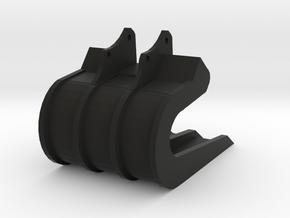 30 Ton Slab Grab Bucket 1:50 Scale in Black Natural Versatile Plastic