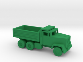 1/144 Scale M917 Dump Truck in Green Strong & Flexible Polished