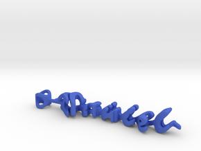 Twine Daniel/Angela in Blue Processed Versatile Plastic