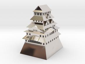 Himeji Castle in Platinum