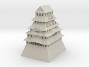 Himeji Castle in Natural Sandstone