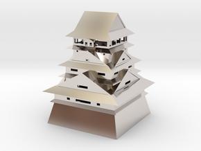 Kumamoto Castle in Platinum