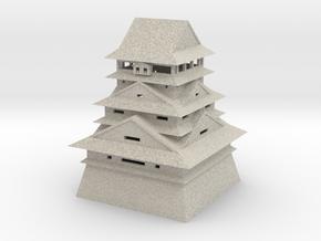 Kumamoto Castle in Natural Sandstone