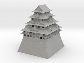 Nagoya Castle in Aluminum