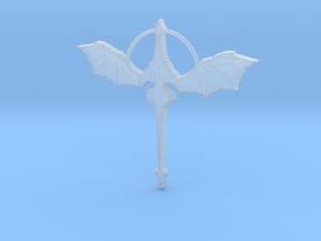 Dragon Pendant in Smoothest Fine Detail Plastic