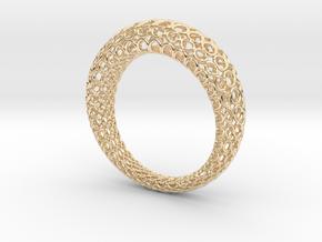 Netzring in 14K Gold