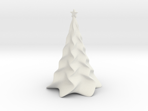 Non-scale Tabletop Christmas Tree in White Strong & Flexible
