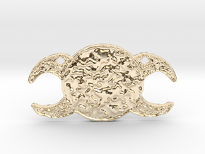 Triple Goddess by Gabrielle in 14K Yellow Gold