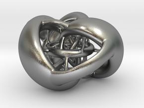 Tetrahedron Hopf preimage (corners) in Natural Silver
