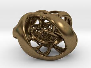 Cube Hopf preimage (corners) in Natural Bronze