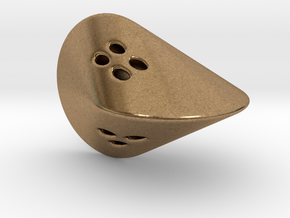 Oloid D4 in Natural Brass