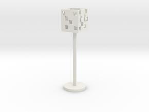Street lights in White Natural Versatile Plastic