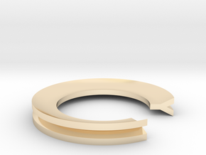 Y Ring in 14K Yellow Gold: 4 / 46.5