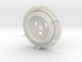 105102106 in White Natural Versatile Plastic