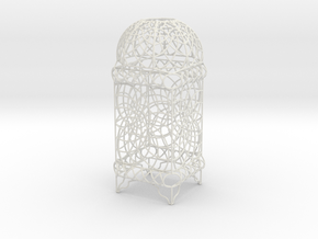 Wire Table Lamp Design Moroccan S in White Strong & Flexible