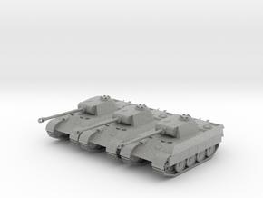 3 Panthers in Metallic Plastic