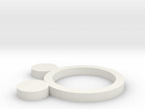 金 in White Natural Versatile Plastic