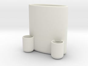 Pen holder in White Natural Versatile Plastic
