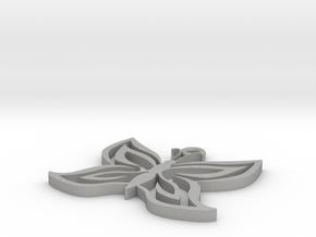 Butterfly Pendant in Aluminum