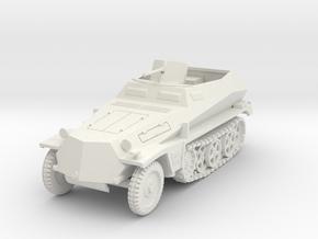 PV157A Sdkfz 250/1 SPW (28mm) in White Natural Versatile Plastic