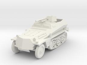 PV158 Sdkfz 250/10 3.7cm Pak (1/48) in White Natural Versatile Plastic