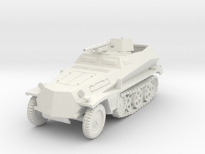 PV158A Sdkfz 250/10 3.7cm Pak (28mm) in White Natural Versatile Plastic