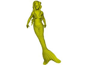 1/72 scale mermaid swimming figure x 1 in Smoothest Fine Detail Plastic