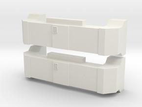 Horst Air Filter (Angled) (G - 1:29) 2X in White Natural Versatile Plastic