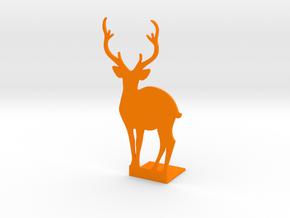 Forest Book Block 02 in Orange Processed Versatile Plastic
