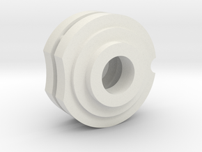 1/16 HL Pz IV Drive Shaft Bearing Supports in White Natural Versatile Plastic