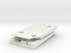 1/16 HL Pz IV Gear Box Ramps. in White Natural Versatile Plastic