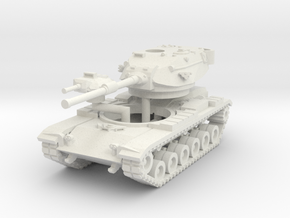 MG144-US02C M60A1 MBT (Smoke) in White Strong & Flexible