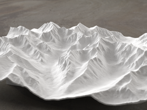8''/20cm High Tatras, Poland/Slovakia, WSF in White Strong & Flexible