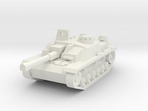 Stug III in White Strong & Flexible