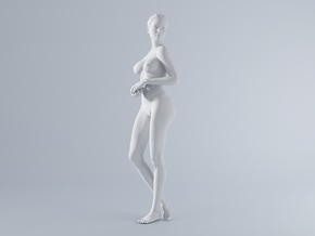 Mini Sexy Woman 016 1/64 in Frosted Ultra Detail: 1:64 - S