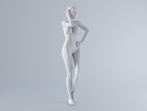 Mini Sexy Woman 017 1/64 in Frosted Ultra Detail: 1:64 - S