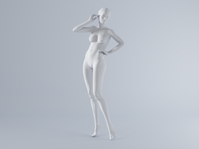 Mini Sexy Woman 038 1/64 in Frosted Ultra Detail: 1:64 - S