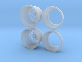 Ansen Slot Deep 1/25 in Smooth Fine Detail Plastic