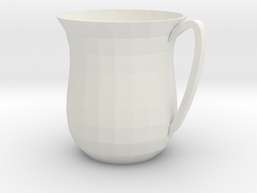 coffee cup in White Natural Versatile Plastic: Small