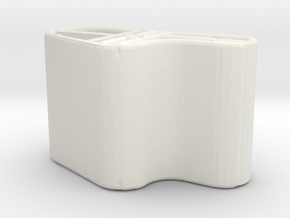 Zip Tub1 in White Strong & Flexible
